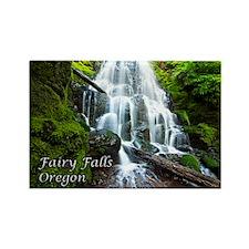 Fairy Falls Rectangle Magnet