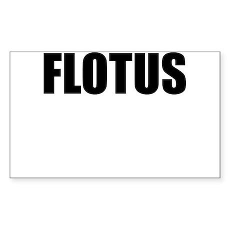 FLOTUS Sticker (Rectangle)