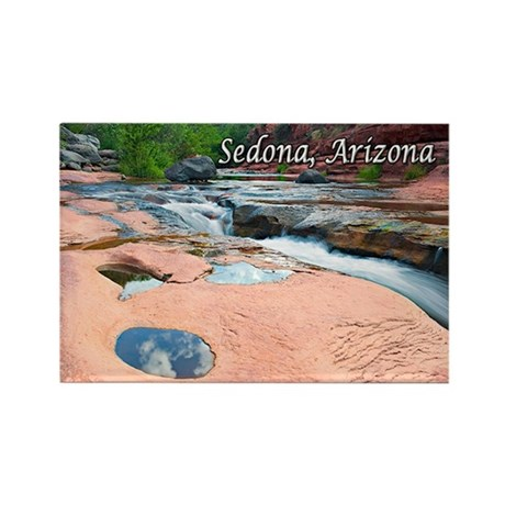 Slide Rock State Park, Sedona, AZ Rectangle Magnet