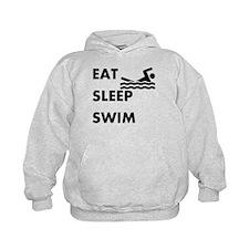 Eat Sleep Swim Hoodie