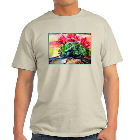 Cactus! Colorful desert art! Light T-Shirt