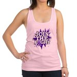 Join Fight Pancreatic Cancer Racerback Tank Top