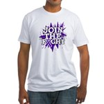 Join Fight Pancreatic Cancer Fitted T-Shirt