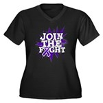 Join Fight Pancreatic Cancer Women's Plus Size V-N