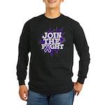 Join Fight Pancreatic Cancer Long Sleeve Dark T-Sh
