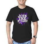 Join Fight Pancreatic Cancer Men's Fitted T-Shirt