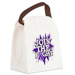 Join Fight Pancreatic Cancer Canvas Lunch Bag