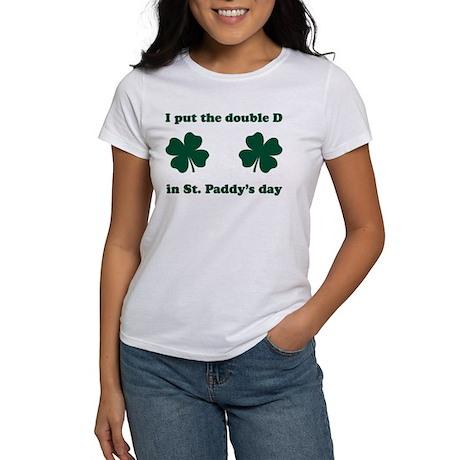 St. Paddy's Double D Women's T-Shirt