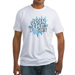 Join Fight Prostate Cancer Fitted T-Shirt