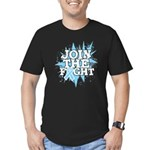 Join Fight Prostate Cancer Men's Fitted T-Shirt (d
