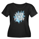 Join Fight Prostate Cancer Women's Plus Size Scoop