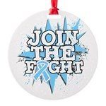 Join Fight Prostate Cancer Round Ornament