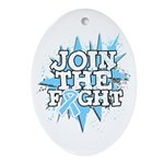 Join Fight Prostate Cancer Ornament (Oval)