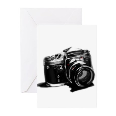 Camera Greeting Cards (Pk of 10)