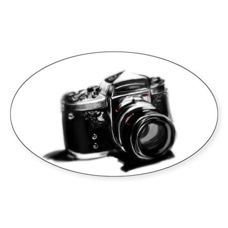 Camera Sticker (Oval 50 pk)