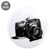 """Camera 3.5"""" Button (10 pack)"""