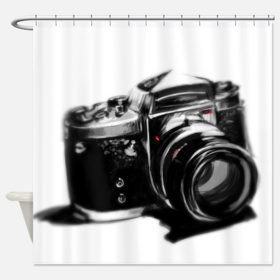 Camera Shower Curtain
