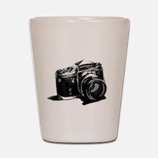 Camera Shot Glass