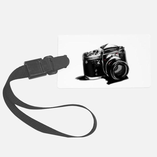 Camera Large Luggage Tag