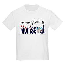 Plymouth Montserrat Kids T-Shirt