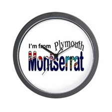 Plymouth Montserrat Wall Clock