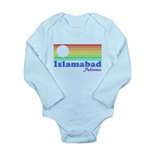 Islamabad, Pakistan Long Sleeve Infant Bodysuit
