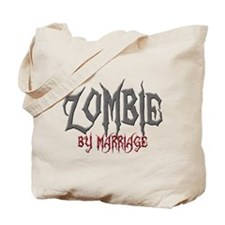 Zombie by marriage Tote Bag