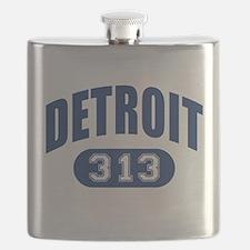 Detroit 313 Flask