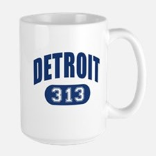 Detroit 313 Large Mug