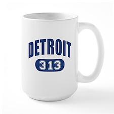 Detroit 313 Mug