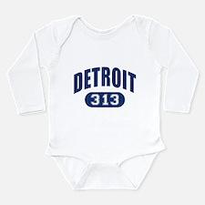 Detroit 313 Long Sleeve Infant Bodysuit