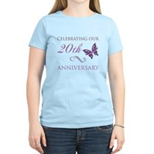 20th Anniversary (Butterfly) T-Shirt
