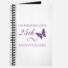 25th Anniversary (Butterfly) Journal