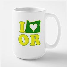 I Heart (Love) Oregon Mug