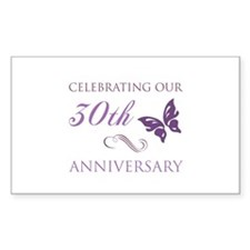 30th Anniversary (Butterfly) Decal