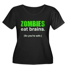 Funny! Zombies Eat BRAINS... T