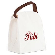 Bibi name Canvas Lunch Bag