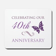 40th Anniversary (Butterfly) Mousepad
