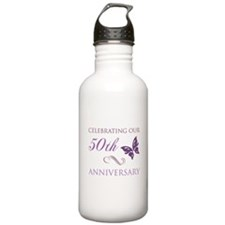 50th Anniversary (Butterfly) Water Bottle