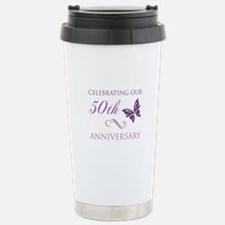 50th Anniversary (Butterfly) Travel Mug