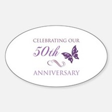 50th Anniversary (Butterfly) Decal
