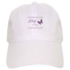 50th Anniversary (Butterfly) Baseball Cap