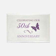50th Anniversary (Butterfly) Rectangle Magnet