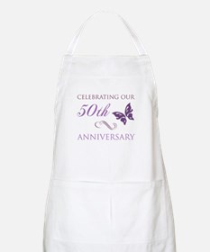 50th Anniversary (Butterfly) Apron