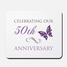 50th Anniversary (Butterfly) Mousepad