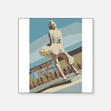 "Palm Springs California Square Sticker 3"" x 3"""