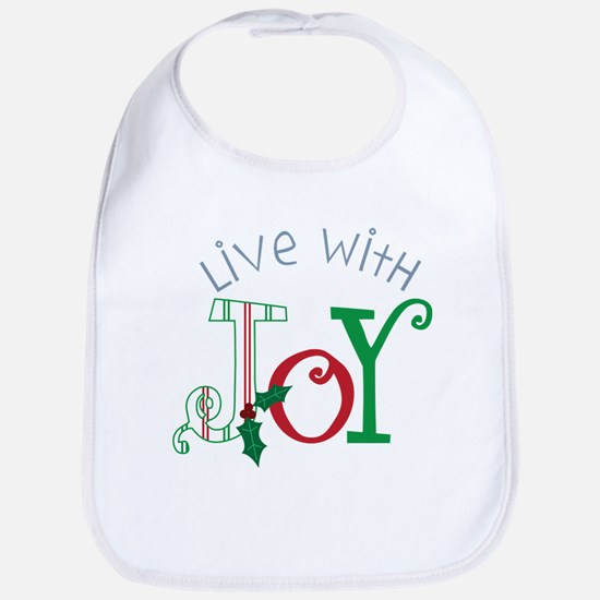 Live With Joy Bib