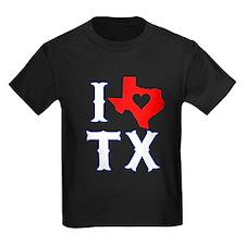 I Heart (Love) Texas T