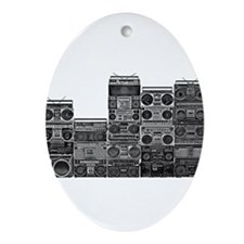 BOOMBOX COLLECTION Ornament (Oval)