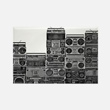 BOOMBOX COLLECTION Rectangle Magnet